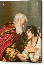 The Prodigal Son Acrylic Print by Lionello Spada