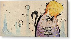 The Prophet At The Gates Acrylic Print by Mark M  Mellon