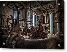 The Pumphouse Acrylic Print by Everet Regal