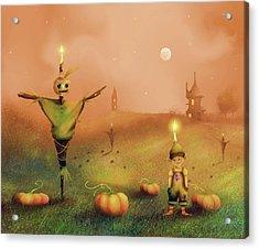 The Pumpkin Thief Acrylic Print