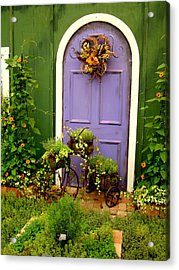 The Purple Door Acrylic Print