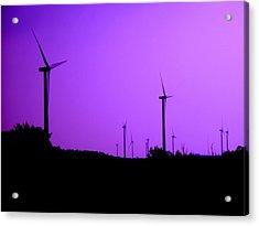 The Purple Expanse Acrylic Print