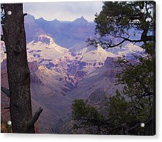 Acrylic Print featuring the photograph The Purple Grand by Marna Edwards Flavell