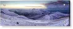The Purple Headed Mountains Acrylic Print