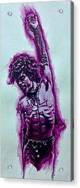 The Purple Prince   Acrylic Print