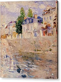 The Quay At Bougival Acrylic Print