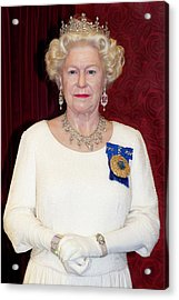 Acrylic Print featuring the photograph The Queen Elizabeth II  by Miroslava Jurcik