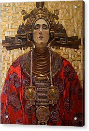 The Queen Of The Sun Acrylic Print by Goryaev Viktor