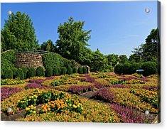 The Quilt Garden Acrylic Print