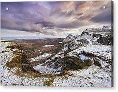 The Quiraing 1 Acrylic Print by Rod McLean