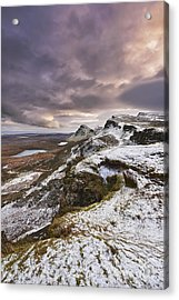 The Quiraing 2 Acrylic Print by Rod McLean