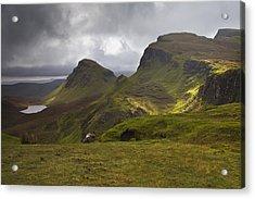 The Quiraing Isle Of Skye Scotland Acrylic Print