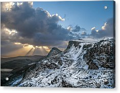 The Quiraing Just After Dawn Acrylic Print
