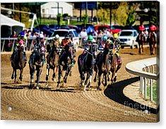 The Race Acrylic Print