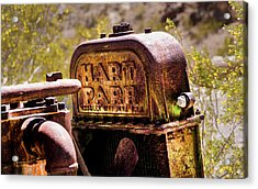 The Radiator Acrylic Print