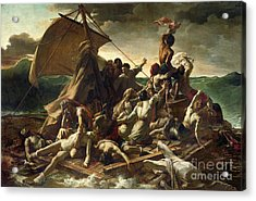 The Raft Of The Medusa Acrylic Print by Theodore Gericault