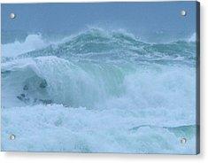 The Raging Ocean Acrylic Print