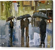 The Rain Came Acrylic Print