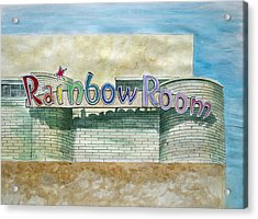 The Rainbow Room Acrylic Print