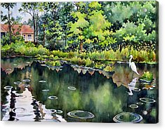 The Rainfisher Acrylic Print