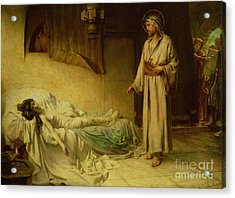 The Raising Of Jairus's Daughter Acrylic Print