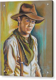 The Ranch Hand  Acrylic Print by Nicole Fisher