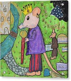 The Rat King Acrylic Print