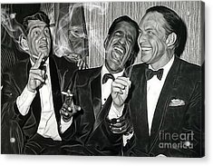 The Rat Pack Collection Acrylic Print