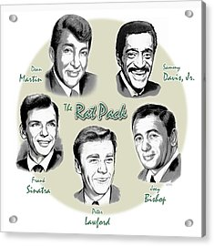 The Rat Pack Acrylic Print by Greg Joens