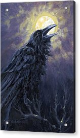 The Raven Called My Name Acrylic Print