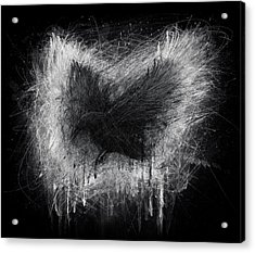 The Raven - Black Edition Acrylic Print