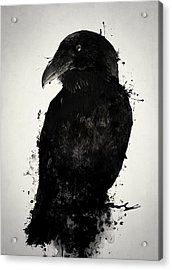 The Raven Acrylic Print by Nicklas Gustafsson