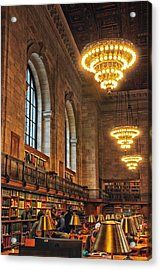 Acrylic Print featuring the photograph The Reading Room by Jessica Jenney