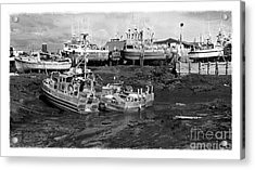The Real Alaska - Caught At Low Tide Acrylic Print