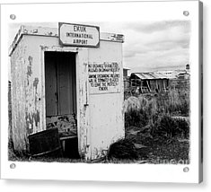 The Real Alaska - Post 9-11 Security Acrylic Print