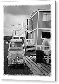 The Real Alaska - Toilet Patrol Acrylic Print by Pete Hellmann
