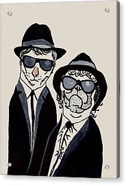 The Real Blues Brothers Acrylic Print