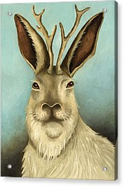 The Real Jackalope Acrylic Print