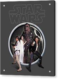 The Rebels Acrylic Print