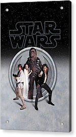 The Rebels Phone Case Acrylic Print