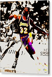 The Rebound Acrylic Print by Brian Reaves