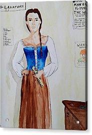 The Recruit Acrylic Print by Helen Krummenacker