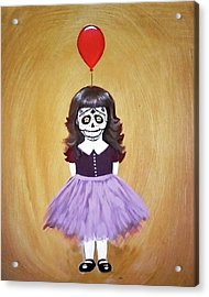 The Red Balloon Acrylic Print