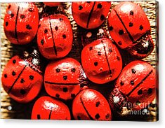 The Red Bug Out  Acrylic Print