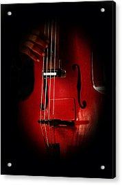 The Red Cello Acrylic Print