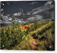 The Red Hill Acrylic Print