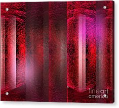 The Red Room Acrylic Print