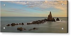 The Reef Of The Cape Sirens At Sunset Acrylic Print