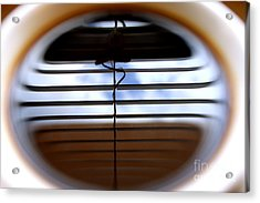 Acrylic Print featuring the photograph The Reflection In A Cup Of Coffee by Danica Radman