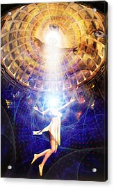 The Release Of Religious Dogma Acrylic Print